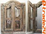 Piękna Drewniana OKIENNICA z Lustrem Rękodzieło w sklepie internetowym e-trade24.pl