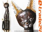 Figurka Koty Rzeźba Drewniana KOT 60cm Rękodzieło w sklepie internetowym e-trade24.pl