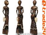 Ciekawa Figura Rzeźba z Drewna Suria Kobieta 60cm w sklepie internetowym e-trade24.pl