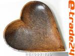 Patera MISA Drewno Kokosowe 19cm Serce Orient w sklepie internetowym e-trade24.pl