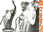 Metalowy SŁOŃ Rzeźba Figurka Rękodzieło ze Stali w sklepie internetowym e-trade24.pl