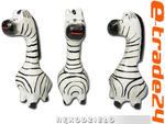 Figurki Rzeźby 3szt kpl ZEBRY Drewno Rękodzieło w sklepie internetowym e-trade24.pl