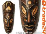 Piękna Rzeźba Maska Drewno Rękodzieło 20cm TUBYLEC w sklepie internetowym e-trade24.pl