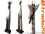 Figurka Rzeźba Żyrafy ŻYRAFA 60cm Brąz + Srebrny w sklepie internetowym e-trade24.pl