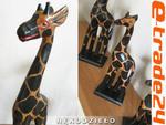 Figurka Rzeźba Żyrafy ŻYRAFA 60cm Rękodzieło w sklepie internetowym e-trade24.pl