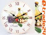 ZEGAR 33cm - Retro Stylowe Zegary do Kuchni Salonu w sklepie internetowym e-trade24.pl