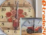 Zegar 30cm - Zegary wzory Salon Kuchnia dla Dzieci w sklepie internetowym e-trade24.pl