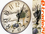 Zegar 30cm - Zegary LAWENDA do Kuchni, Salonu w sklepie internetowym e-trade24.pl