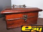Szkatułka, piękny KUFEREK Drewniany na Biżuterie w sklepie internetowym e-trade24.pl