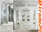 Piękna Drewniana OKIENNICA z Lustrem Rękodzieło 80cm w sklepie internetowym e-trade24.pl