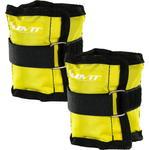 Opaski obciążające na rzepy 2x0,5 kg, żółte w sklepie internetowym TwojPasaz.pl