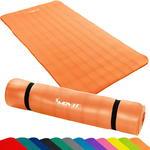 Pomarańczowa mata do ćwiczeń, jogi, masażu 190 x 100 cm MOVIT w sklepie internetowym TwojPasaz.pl