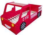 Łóżko dziecięce dla chłopca 90x200cm model straż pożarna w sklepie internetowym TwojPasaz.pl
