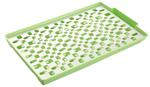 Taca -Taca z ociekaczem plastikowa zielona w sklepie internetowym TwojPasaz.pl