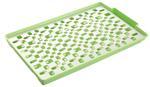 Taca -Taca z ociekaczem plastikowa zielona Tadar w sklepie internetowym TwojPasaz.pl