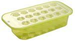 Foremka do lodu z pojemnikiem plastikowa zielona w sklepie internetowym TwojPasaz.pl