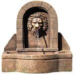 Fontanna ogrodowa, pojnik, wodnik ogrodowy z głową lwa w sklepie internetowym TwojPasaz.pl