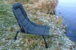 Krzesełko wędkarskie turystyczne krzesło składane granatowe w sklepie internetowym TwojPasaz.pl