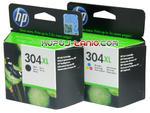 HP 304XL Black + Color oryginalne tusze HP Deskjet 2620, HP Deskjet 2630, HP Deskjet 2633, HP Envy 5030, HP Deskjet 3720, HP Deskjet 2632 w sklepie internetowym Kupuj-tanio.com