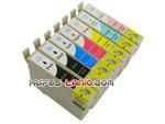 .T0807 tusze do Epson (7 szt., BT) tusze Epson P50, Epson R265, Epson R285, Epson R360, Epson RX560, Epson RX585, Epson PX700W, Epson RX685 w sklepie internetowym Kupuj-tanio.com