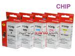 .PGI-525BK - CLI-526 tusze do Canon (5 szt z chipami, Crystal-Ink) tusze do Canon MG5250, MG5350, MG5150, iP4850, iP4950, MG6150, MG6250 w sklepie internetowym Kupuj-tanio.com