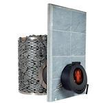 Piec opalany drewnem do sauny SL IKI - szklane drzwi IKI SL w sklepie internetowym Sauna-serwis.pl