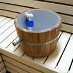Wiadro prysznicowe do sauny (dębowe, 30 litrów) Wiadro prysznicowe do sauny (30 litrów) w sklepie internetowym Sauna-serwis.pl