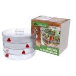 Kiełkownica 3 Szalki na Kiełki - Naczynie Do Kiełków - Bio Natura w sklepie internetowym MarketBio.pl