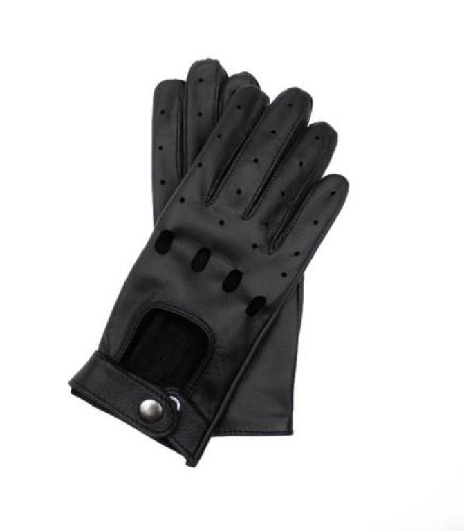 8ea4d4687e2ee Damskie rękawiczki skórzane samochodowe z funkcją obsługi ekranów  dotykowych