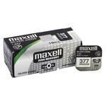 bateria srebrowa mini Maxell 377 / 376 / SR 626 SW / G4 w sklepie internetowym Hurt.Com.pl