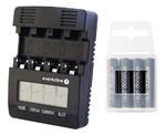 ?adowarka everActive NC-3000 + 4x akumulatory Panasonic ENELOOP PRO R03/AAA 950 mAh w sklepie internetowym Hurt.Com.pl