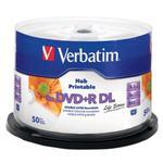 P?yty DVD+R DL 8,5GB 8X VERBATIM PRINTABLE cake 50 w sklepie internetowym Hurt.Com.pl