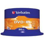 P?yty DVD-R 4,7GB 16X Verbatim cake 50 w sklepie internetowym Hurt.Com.pl