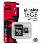 karta pami?ci Kingston microSDHC 16GB class 10 UHS-I + adapter SD w sklepie internetowym Hurt.Com.pl