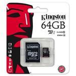 karta pami?ci Kingston microSDXC 64GB class 10 UHS-I + adapter SD w sklepie internetowym Hurt.Com.pl