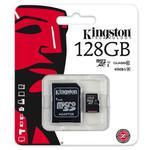 karta pami?ci Kingston microSDXC 128GB class 10 UHS-I + adapter SD w sklepie internetowym Hurt.Com.pl