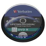 P?yty DVD R Verbatim MDISC Lifetime Archival Print CAKE10 w sklepie internetowym Hurt.Com.pl