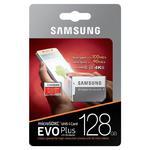 Karta pami?ci Samsung EVO PLUS microSDXC 128GB UHS-I U3 class 10 90/100MB/s + adapter do SD w sklepie internetowym Hurt.Com.pl