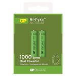 2 x akumulatorki R03/AAA GP ReCyko+ 1000 Series 950mAh w sklepie internetowym Hurt.Com.pl