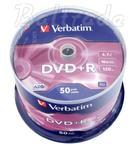 P?yty DVD+R 4,7GB 16X Verbatim cake 50 w sklepie internetowym Hurt.Com.pl