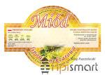 OKRAGŁE Etykiety na miód LIPOWY Paczka 100szt - OKRAGŁE Etykiety na miód LIPOWY Paczka 100szt w sklepie internetowym Apismart.eu