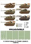 Montex K35030 # PzKpfw VI Tiger I Early (Tamiya) (1/35) w sklepie internetowym JadarHobby