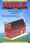 Modelik 00/4 Ratusz Staromiejski w Szczecinie (1:150) w sklepie internetowym JadarHobby