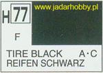 Mr.Hobby 077 (Gunze Sangyo) Aqueus Hobby Color Color - H77 TIRE BLACK w sklepie internetowym JadarHobby