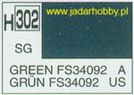 Mr.Hobby 302 (Gunze Sangyo) Aqueus Hobby Color Color - H302 GREEN FS34092 w sklepie internetowym JadarHobby