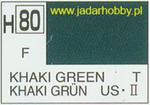 Mr.Hobby 080 (Gunze Sangyo) Aqueus Hobby Color Color - H80 KHAKI GREENw w sklepie internetowym JadarHobby