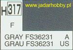 Mr.Hobby 317 (Gunze Sangyo) Aqueus Hobby Color Color - H317 GRAY FS36231 w sklepie internetowym JadarHobby