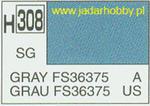 Mr.Hobby 308 (Gunze Sangyo) Aqueus Hobby Color Color - H308 GRAY FS36375 w sklepie internetowym JadarHobby