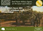 Plastic Soldier WW2V15008 - M4A1 76mm Wet Stowage Sherman Tank (15mm) w sklepie internetowym JadarHobby
