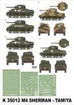 Montex K35012 # M4 Sherman (Tamiya) (1/35) w sklepie internetowym JadarHobby